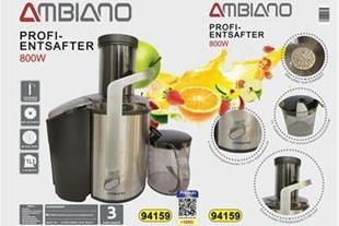 فروش دستگاه آبمیوه گیری مارک امبیانو مدل  JE-3