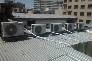 نصب ، شارژ و تعمیرات انواع کولر گازی در مشهد