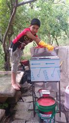 دستگاه گوجه صاف کن وآب گوجه گیری - 1