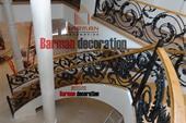 دکوراسیون داخلی اجرای نرده چوبی