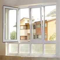 تولید و فروش پنجره های دوجداره و سه جداره upvc