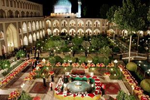 تور مهمانسرای عباسی اصفهان