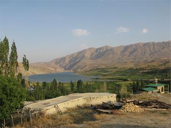2000متر زمین کشاورزی بالاسر روستای سله بن  سدنمرود - 1
