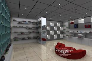 دکوراسیون داخلی مغازه