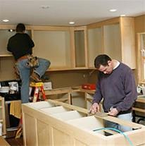کابینت ساز پروژه ای در کلینیک ساختمانی