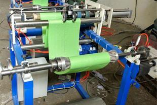 دستگاه پرفراژ سفره یکبار مصرف نایلونی و کاغذی