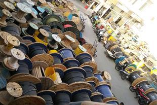 فروش سیم و کابل مخابراتی , شبکه و برقی
