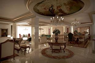 طراحی داخلی کلاسیک لوکس