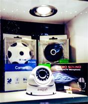 فروش دوربین لامپی و دوربین مداربسته بیسیم