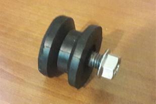 لرزه گیر کابین آسانسور و لاستیک تخت پایه موتور