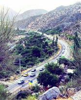 نمایی از دره مدیترانه ای دلفارد