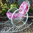 صندلی راک فلزی رنگ کوره ای