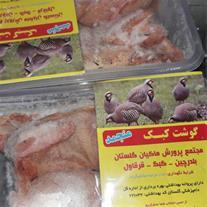 گوشت منجمد کبک