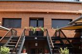 چوب ترموود تابلو و نماهای ساختمانی