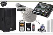 اجاره سیستم صوتی ، باند اکتیو ، لوازم نورپردازی