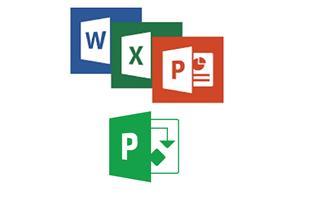 اکسل Excel ورد Word، پاورپوینت Powerpoint و MSP