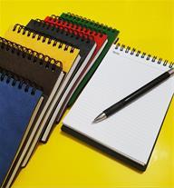 تولید کننده دفترچه یادداشت های اختصاصی