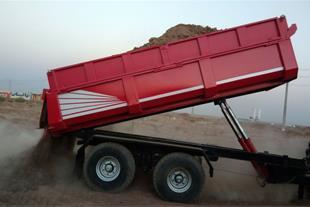 فروش تریلر کشاورزی و صنعتی 2.5 تن تا 15 تن