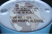فروش ایزوپروپیل الکل LG و ISU  و Isopropyl alcohol