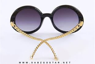 عینک زنانه شانل با طراحی دسته زنجیری