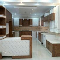 آشپزخانه با کابینت های مدرن با قیمت های استثنایی