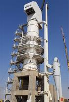 کوره های عمودی (شفت) پخت آهک صنعتی
