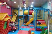 پلی گراند سازه ایمن و متفاوت برای مراکز تخصصی کودک