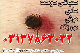 سمپاشی موریانه ، سوسک ، ساس ، سمپاشی اصفهان