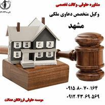 بهترین وکیل ملکی مشهد