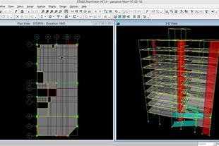 آموزش طراحی سازه های بتنی و فولادی Safe&Etabs