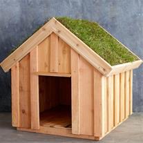 خانه های چوبی برای حیوانات خانگی