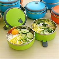 ظرف غذای یک طبقه Lunch Box (Mzkala)