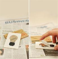 لامپ LED کارتی تاشو(Mzkala)
