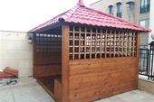 طراحی و اجرای انواع آلاچیق چوبی