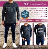 بلوز آستین بلند مردانه Rock (Mzkala)