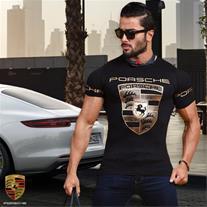 تی شرت مردانه طرح Porsche (Mzkala)