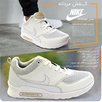 کفش مردانه نایک مدل Airmax (سفید) (Mzkala)