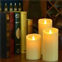 شمع های ال ای دی 3 تایی