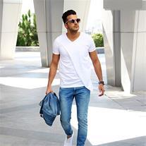 تی شرت لانگ مردانه مدل Smith (Mzkala)