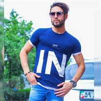 تی شرت مردانه طرح OFF IN(Mzkala)