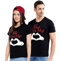 ست تی شرت مردانه و زنانه Romantic(Mzkala)