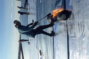ایزوگام ، اجرای آسفالتکاری ، ایزوگام فویلدار