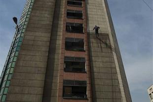 کار در ارتفاع بدون داربست در تهران