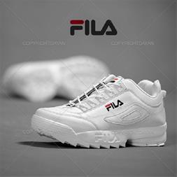 کفش مردانه Fila مدل Naba (تمام سفید) (Mzkala)