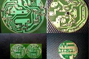 تولید برد مدار چاپی دایره با یک پنجم قیمت