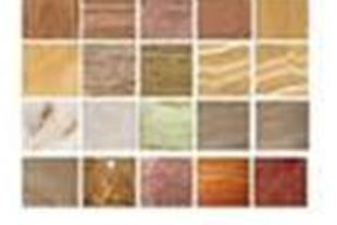 ارائه انواع سنگ های مرمریت