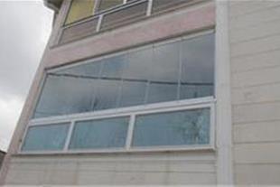 طراح و مجری شیشه بالکن تاشو - بالکن شیشه ای