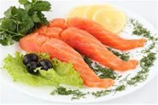 تیلاپیا میگو ماهی سالمون