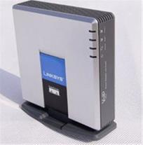 مبدل گوشی تلفن تحت شبکه Linksys SPA 2102