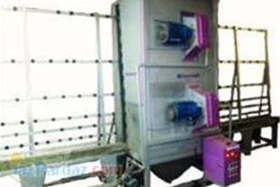 تولید کلیه دستگاه های  وت بلاستینگ (دستگاه شیشه)